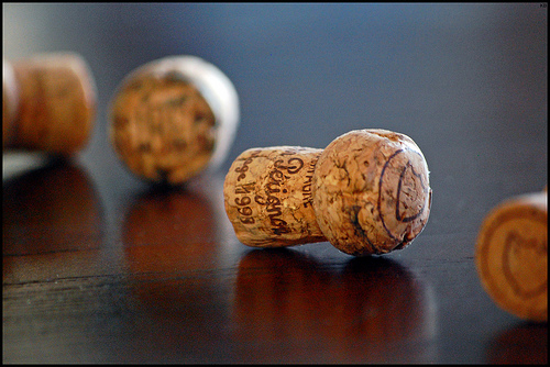 Champagne corks (by krikit — flickr)