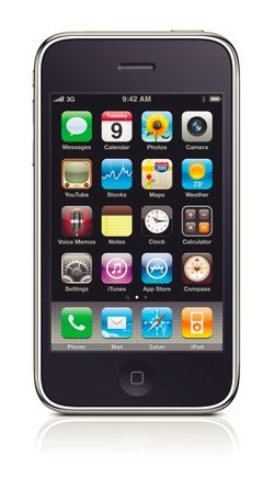 iPhone 3G S image courtesy of Apple