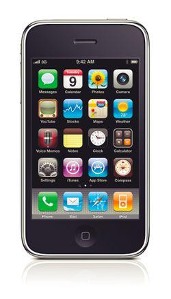 iPhone 3G S image courtesy of Apple